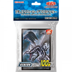 YuGiOh Card Sleeves Crimson Eyes Black Dragon japan plush