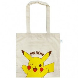 Eco-marked cotton bag Pikachu japan plush