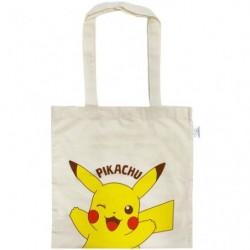 Sac en coton éco-marqué Pikachu japan plush