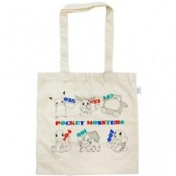 Eco-marked cotton bag together japan plush