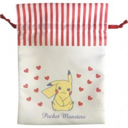 Pouch Pikachu Heart japan plush