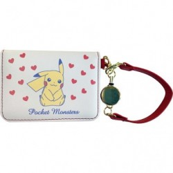 Porte-cartes plié Pikachu japan plush