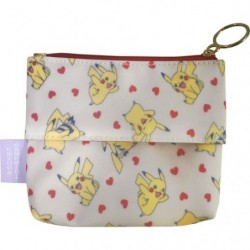 Pochette à mouchoir Pikachu Coeur japan plush