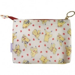Double pochette Pikachu Coeur japan plush
