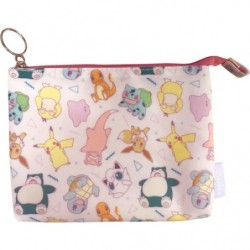 Double pouch Pastel japan plush