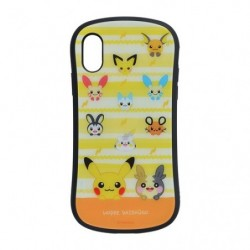 Case iPhoneXs/XGlass Pokémon HOPPE DAISHŪGO japan plush