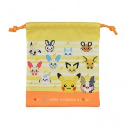 Pouch Pokémon HOPPE DAISHŪGO japan plush