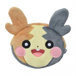 Pouch double face Morpeko Pokémon HOPPE DAISHŪGO japan plush