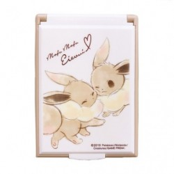 Card mirrorS Eevee Mofu Mofu Eievui  japan plush