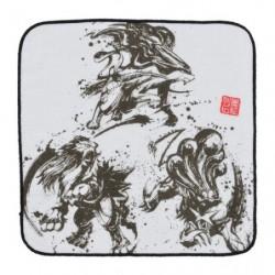 Serviette Calligraphy Sumie Retsuden Entei Suicune Raikou japan plush