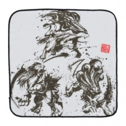 Towel Calligraphy Sumie Retsuden Entei Suicune Raikou japan plush
