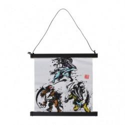 Kakejiku Entei Suicune Raikou Calligraphy Sumie Retsuden