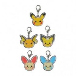 Porte-clés set A Pokémon HOPPE DAISHŪGO japan plush