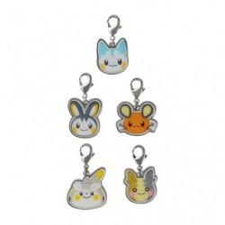 Porte-clés set B Pokémon HOPPE DAISHŪGO japan plush