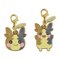Porte-clés Morpeko métal double face Pokémon HOPPE DAISHŪGO japan plush