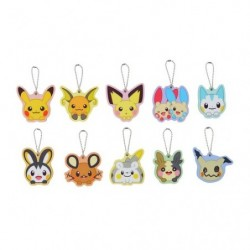 Acrylic keychain Pokémon HOPPE DAISHŪGO BOX japan plush
