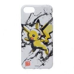 Protection souple Pikachu iPhone 8/7/6s/6 Calligraphy Sumie Retsuden japan plush