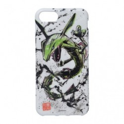 Softjacket Rayquaza iPhone 8/7/6s/6 Calligraphy Sumie Retsuden japan plush