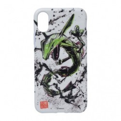 Soft jacket Rayquaza for iPhone Xs/X Calligraphy Sumie Retsuden japan plush