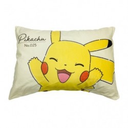 Taie d'oreiller Pikachu Smile japan plush