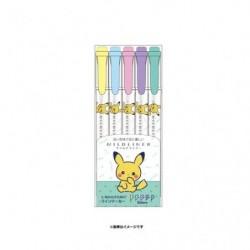 Surligneur 5 couleurs PokémonSet A japan plush