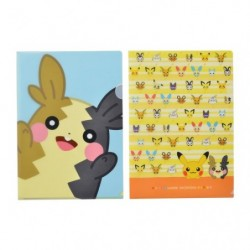 Clear file Set Pokémon HOPPE DAISHŪGO japan plush