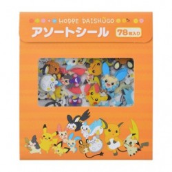 Assortiment stickers Pokémon HOPPE DAISHŪGO japan plush