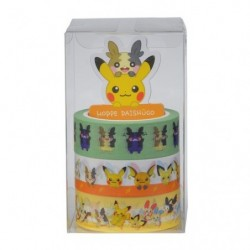Masking tape set Pokémon HOPPE DAISHŪGO japan plush