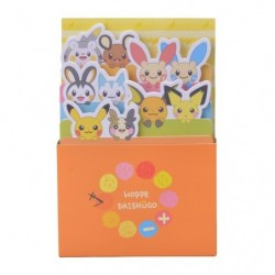 Boîte Memo Pokémon HOPPE DAISHŪGO japan plush