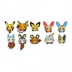 Clip caoutchouc Pokémon HOPPE DAISHŪGO japan plush