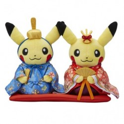 Plush Monthly Pair Pikachu 2017 March