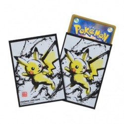 Card Sleeves Pikachu Calligraphy Sumie Retsuden Pokemon TCG Japan japan plush