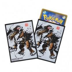 Protèges-cartes Entei Calligraphie Sumie Retsuden Pokemon TCG Japan
