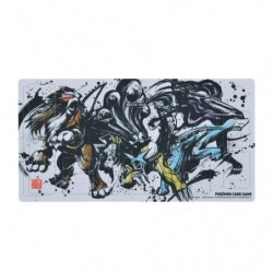 Tapis de jeu Entei Suicune Raikou Calligraphy Sumie Retsuden Pokemon TCG Japan japan plush