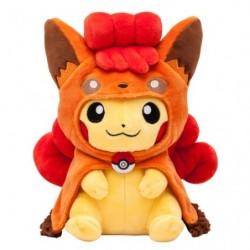 Plush Vulpix Pikachu Poncho