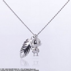Collier Silver Chocobo Final Fantasy VII Remake japan plush
