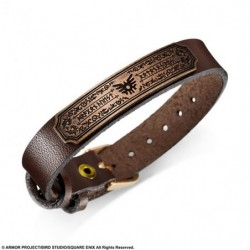 Leather Bracelet Loto Brown Dragon Quest