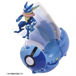 Figure Greninja Poke Deruze japan plush