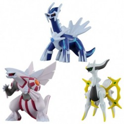 Figure Dialga Palkia Arceus Moncolle ML-06-07-22 japan plush