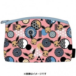 Trousse Yuzen Évoli A japan plush