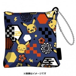 Porte Cle Zabuton Pikachu japan plush