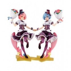 Ram & Rem: Birthday Ver. Complete Set Re:ZERO -Starting Life in Another World- japan plush