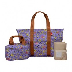 Set Shopping Bag Purple japan plush