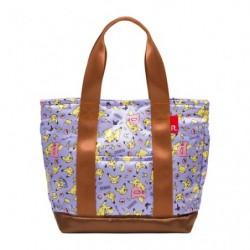 Hand Shopping Bag Purple japan plush