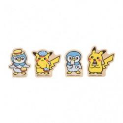 Clip Set Pokémon Life japan plush
