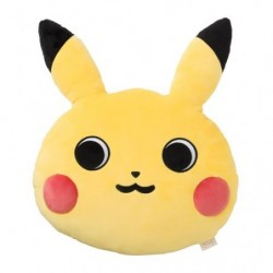 Cushion Pokémon Face Pikachu japan plush