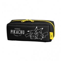 Trousse Pikachu number025 Noir japan plush