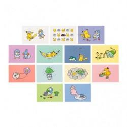 Post Card Pokémon Life japan plush