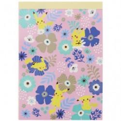 Memo A6 Flower japan plush