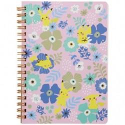 Cahier Note B6 Fleur japan plush